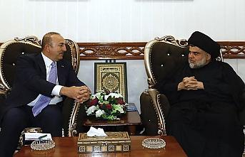 Çavuşoğlu, Iraklı liderlerle görüştü