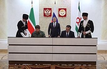Çeçenistan ve İnguşya arasındaki sınır paylaşım anlaşması yürürlüğe girdi
