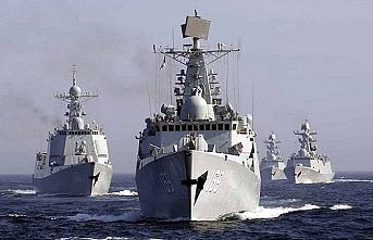 Çin ve ABD Pasifik'te karşı karşıya geldi