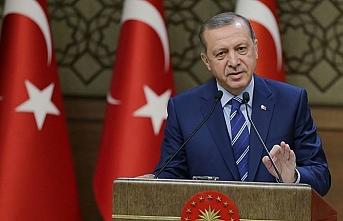 Cumhurbaşkanı Erdoğan İl Müftülerine konuştu