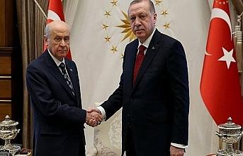 Erdoğan-Bahçeli görüşmesi bugün