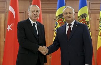 Erdoğan Gagauzya'da halka seslendi