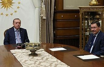 """Erdoğan Gökçek için """"Beraberiz"""" dedi"""