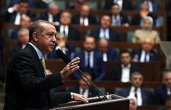 Erdoğan partisinin grup toplantısında konuştu