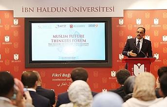 Geleceğin Müslüman Düşünürleri Forumu başladı