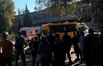 Kırım'daki okul patlamasında ölü sayısı artıyor