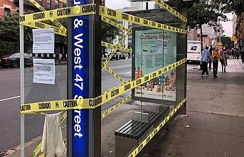 New York'taki otobüs duraklarının yarısı iptal