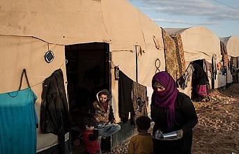 Rakka halkı çadırlarda kışa giriyor