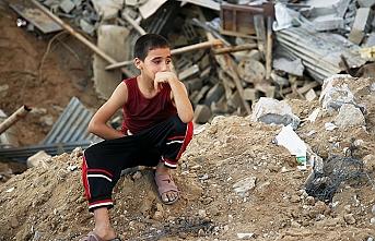 Savaş ortasında kalan çocuklar
