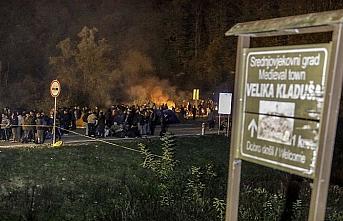Sığınmacılar kışı AB kapısında bekliyor