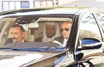 Suudi Başsavcı, yeniden Çağlayan Adliyesi'ne geldi