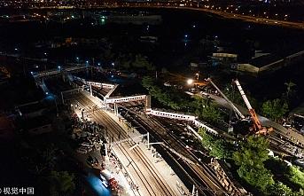 Tayvan'daki tren kazası incelemeleri devam ediyor