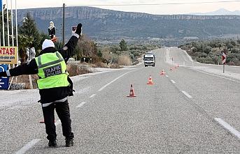 Göçmenlere Tekirdağ'da polis çevirmesi