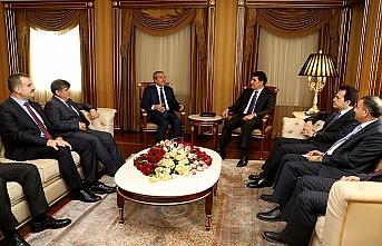 Türk heyet Erbil'de Barzani ile görüştü