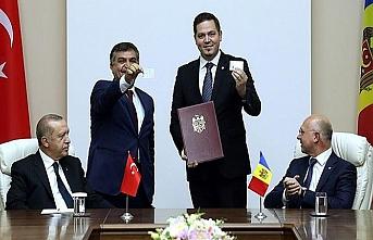 Türkiye ve Moldova arasında 5 anlaşma imzalandı