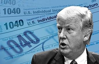 """Washington'da gündem """"vergi kaçakçısı"""" Trump"""
