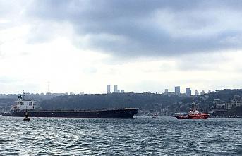 Yenikapı'da gemi kazası