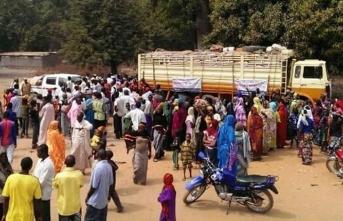 10 bin kişi hastaneye sığındı
