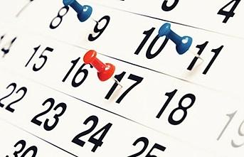 2019 yılı resmi tatil günleri belli oldu