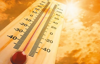 94 yıllık sıcaklık rekoru kırıldı