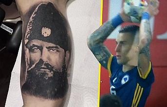 """Bosnalı milli futbolcunun """"Çetnik dövmesi"""" ülkeyi karıştırdı"""