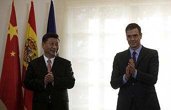 Çin Devlet Başkanı İspanya'da