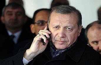 Cumhurbaşkanı Erdoğan ile Abbas telefonda görüştü