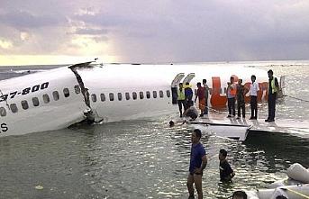 Endonezya'da düşen uçakla ilgili önemli gelişme