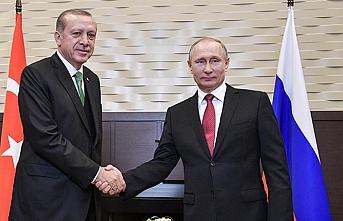 Erdoğan ve Putin TürkAkım açılışında
