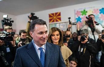 Eski Makedonya Başbakanı Gruevski'nin dokunulmazlığı kalktı