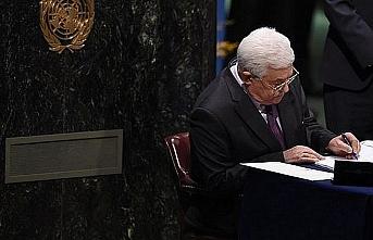 Filistin'den 11 uluslararası imza