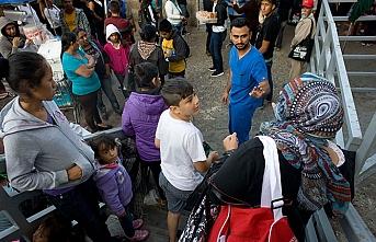 Göçmenler Trump'a rağmen akın ediyor