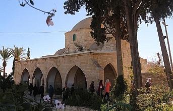 Güney Kıbrıs Rum kesimindeki Hala Sultan Tekkesi'ne ziyaret
