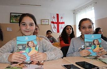 Gürcistan'da devlet okulunda seçmeli Türkçe dersi başladı
