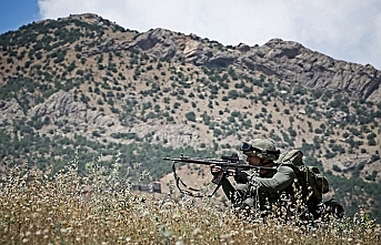 Hakkari'de PKK ile mücadele