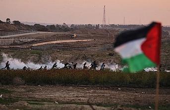 İşgal güçleri Gazze sınırında 40 Filistinliyi yaraladı