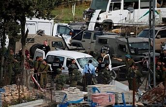 İsrail bir Filistinliyi vurdu