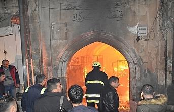 Kerkük'teki Kayseri çarşısında yangın