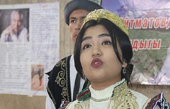 Kırgızistan'da üniversiteler 'Kalbimizde Aytmatov' festivalinde buluştu