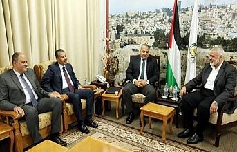 Mısır güvenlik heyeti Filistin'den ayrıldı