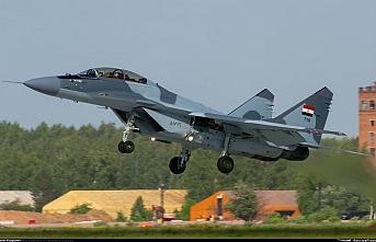 Mısır'da Rus yapımı MİG-29 düştü