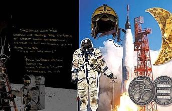 Neil Armstrong'un eşyaları açık artırmayla satıldı