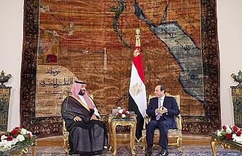 Prens ve Sisi görüşmesinde diplomatik kriz