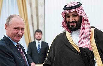 Putin, Veliaht Prens Selman ile görüşebilir