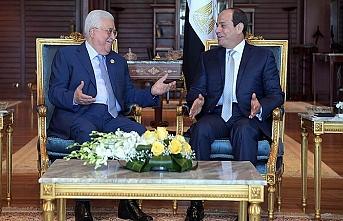 Sisi ve Abbas Filistin için bir araya geldi