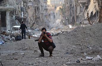 Suriye'de gazeteciler hedef alındı