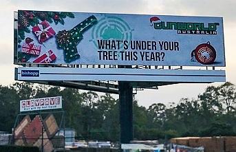 Avustralya'da Noel için silah hediyesi reklamı verildi