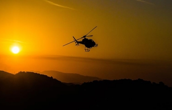 BAE'de helikopter düştü