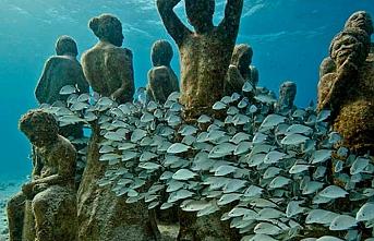 Kayıp medeniyetlerin izi su altında sergilenecek