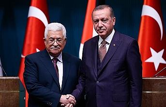 Cumhurbaşkanı Erdoğan, Abbas ile telefonda görüştü